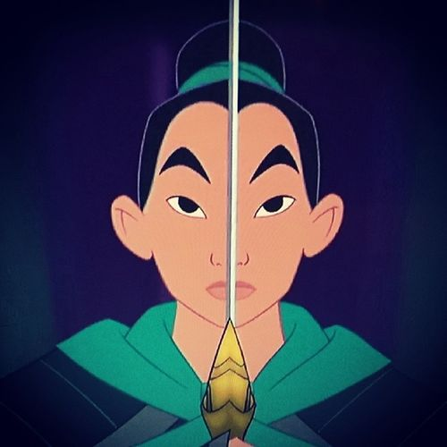 Watching Disney's Stevert. .. I mean Mulan. Disney Mulan MyFianceIsMulan Project365 34of365 @steviestevert