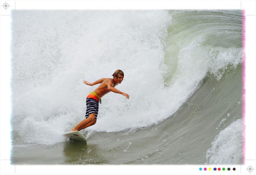 Invest 95L swell Surfing Boguebanks Boguepier North Carolina Nikond610 Cameraplus Tadaa Community