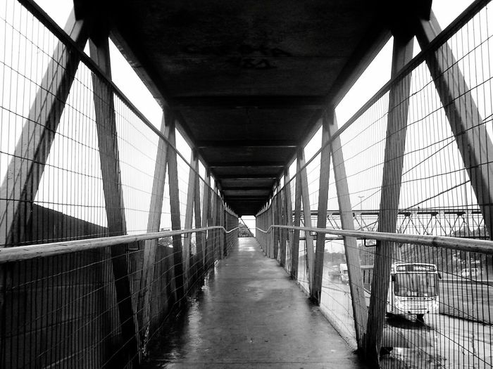 Guadalupe Built Structure Architecture Bridge - Man Made Structure Indoors  Day No People City Black And White Friday The Art Of Street Photography