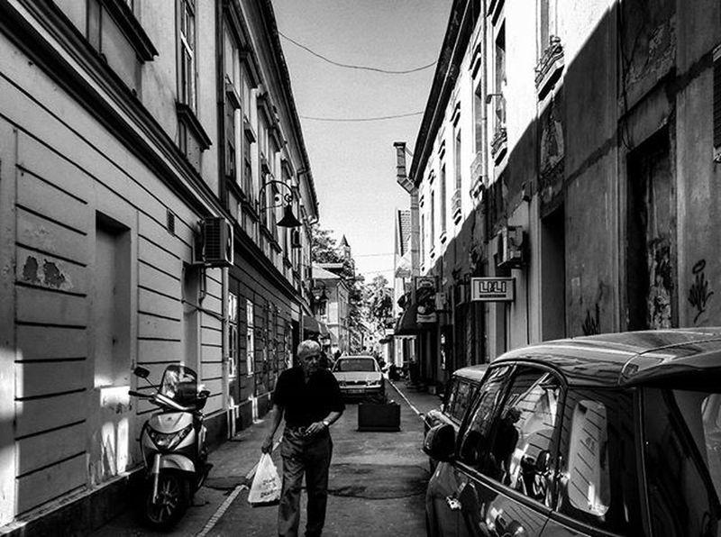 Zemun,Gardos Beograd Belgrade Zemun Blackandwhite