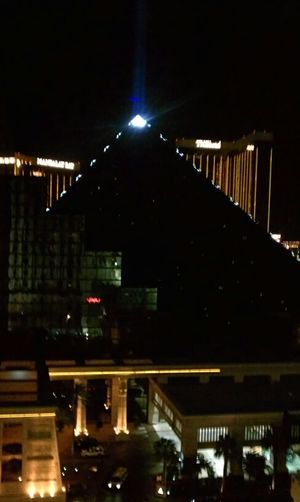 The View from my hotel room in Vegas!