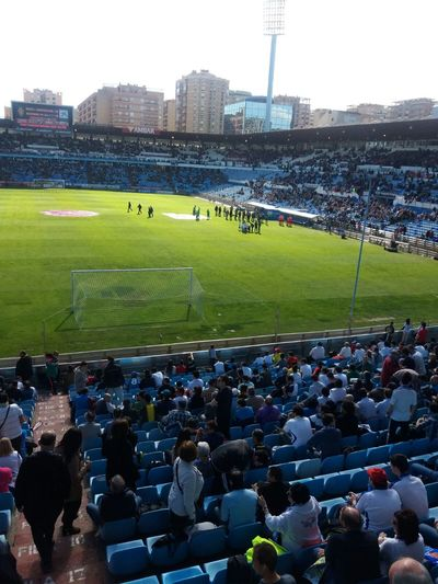 Otra Foto del Estadio Municipal De La Romareda el Campo de mi Real Zaragoza