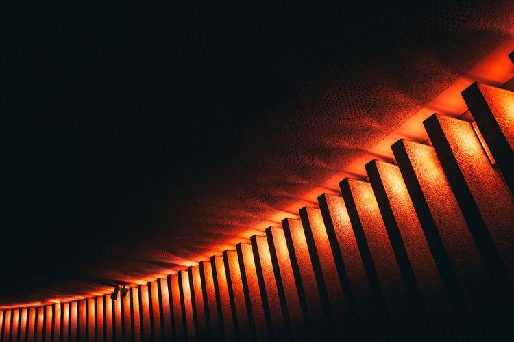 Close-up of metallic wall