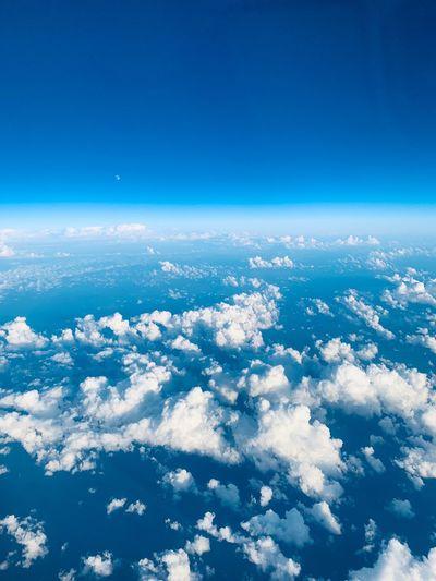 お空。 Sky Blue