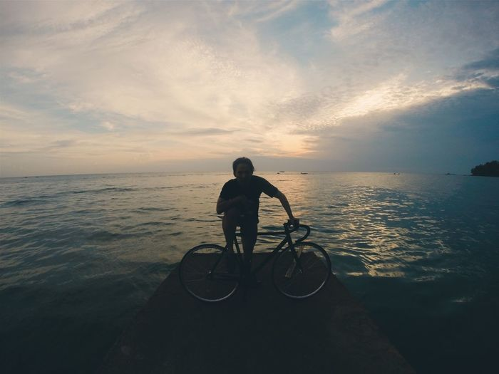Totally Worth It Sea View Fixed Gear GoPro Hero3+