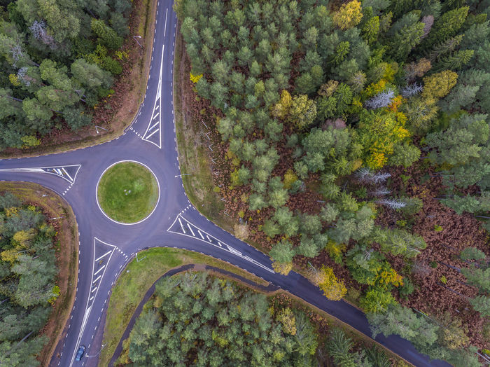 Aerial view with autumn colors Aerial Shot Autumn Autumn Colors Drone  Fall Colors Sweden Aerial View Beauty In Nature Car Day Dronephotography Fall Green Color Growth High Angle View Nature No People Outdoors Transportation Tree