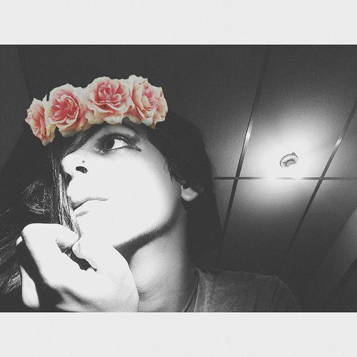 Genderfluid Gender? Flowercrown  Tumblrgirl