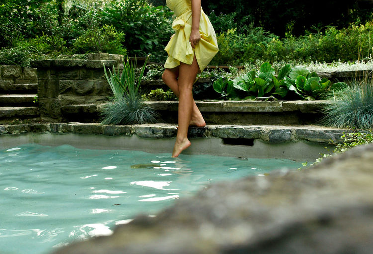 Hidden Places Human Foot Legs Nature Nature Outdoors Summer Tranquility Water People And Places