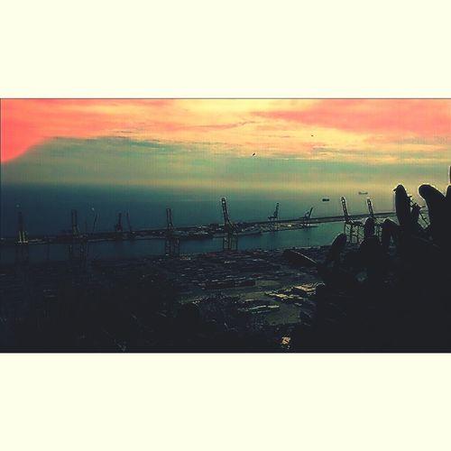 Vistas del port..nanit!! Love_all_sky EyeEm Best Shots Eyemcatalunya Estaes_bcn