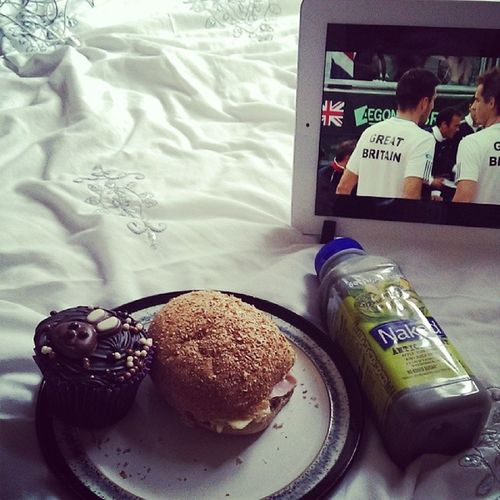 Saturday consisting of lunch, naked smoothie and team GB Backthebrits