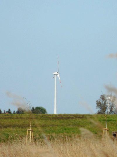 Wind Turbine Sunny Day 🌞