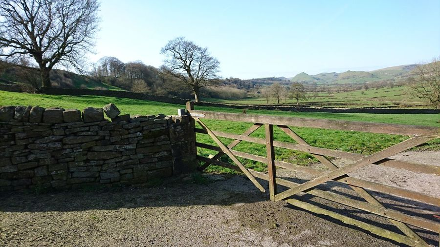 Farm Rural Scene No People Outdoors Landscape Beauty In Nature Picturesque Tranquility Countryside Nature Gates Fields