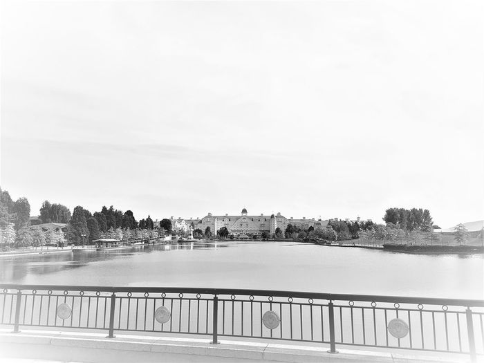 Disney's Newport Bay Club Hotel - Disneyland Resort Paris 2017 Black & White Black & White Photography Disneyland Paris Disneyland Paris 💚🎆🗼 Disneyland Resort Paris 2017 Travel Photography Architecture Black & White Collection Black And White Black And White Collection  Black And White Photography Black&white Black&white Photography Blackandwhite Blackandwhite Photography Blackandwhitephoto Blackandwhitephotography Day Nature No People Outdoors Sky Travelphotography Tree Water