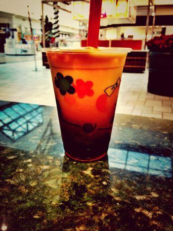 73° in Richmond? SMH ... Iced cold Thai tea it is.