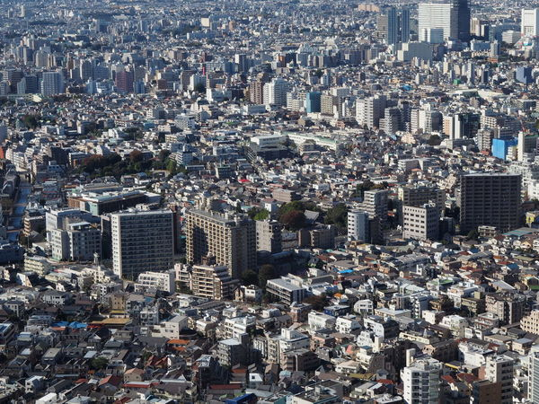 Aerial View Architecture City Cityscape Constructions Crowded Crowded City Day Demography Outdoors Over Populated People Skyscraper Tokyo Travel Destinations Urban Urbanism