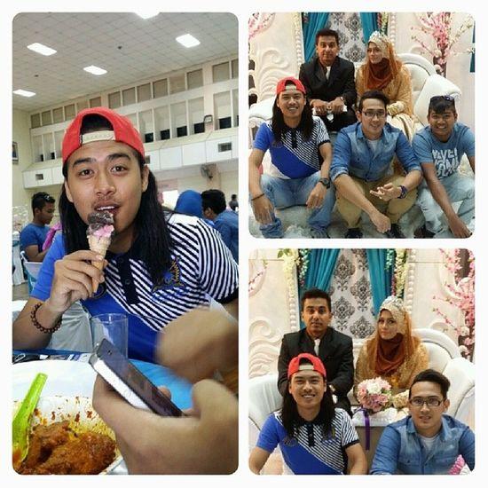 Haa kami just having fun with old frend . Kawankolej Kenduri rasul Telokintan Perak