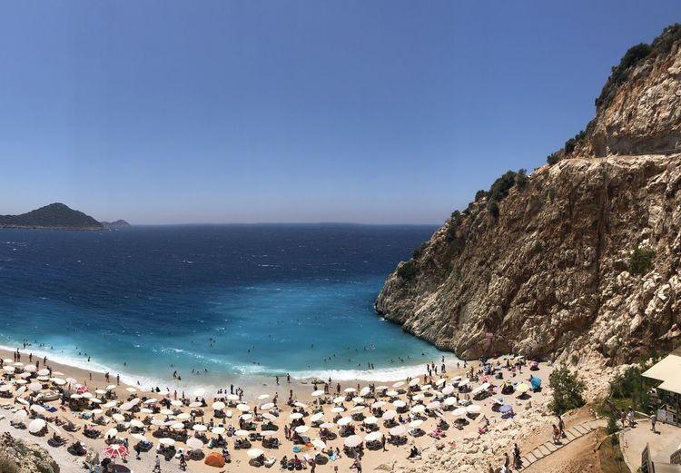 Пляж в центре
