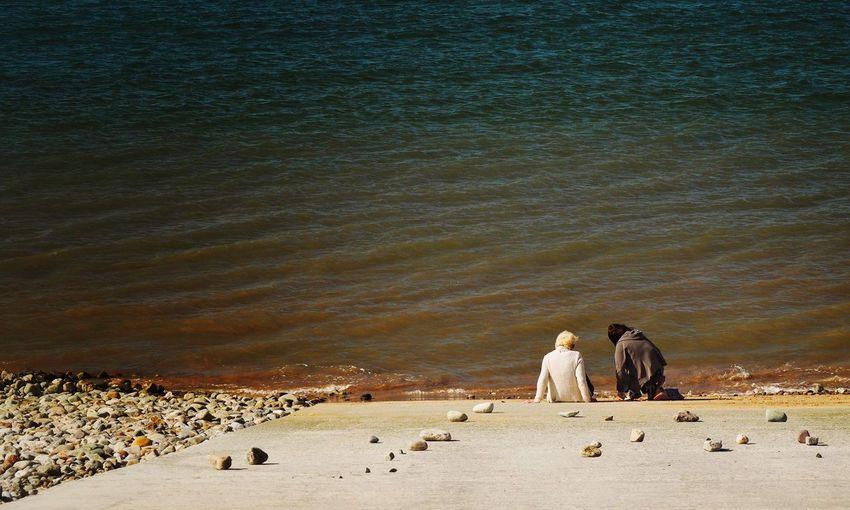 The Edge of the Sea! The Street Photographer - 2015 EyeEm Awards OlympusPEN Walking Around People Sea Seaside Seascape The Great Outdoors - 2015 EyeEm Awards
