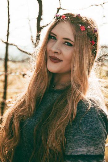 Long Hair Portrait Outdoors Nature Beauty Flower Photoshoot Photoart Photooftheday Photography Travel Photoshop Photo EyeEmNewHere Springtime