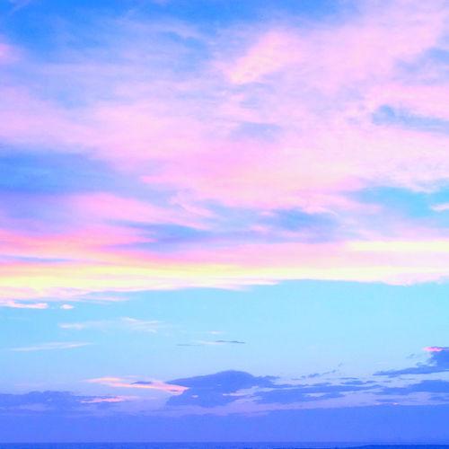 Beautiful Sky Pink Blue Sky_collection Skylovers Sky_collection Skyporn Otukaresama Photo Photography Cottoncandy