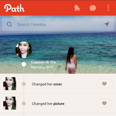 newbie :) just started path.. follow me guys Meg Sayon Path