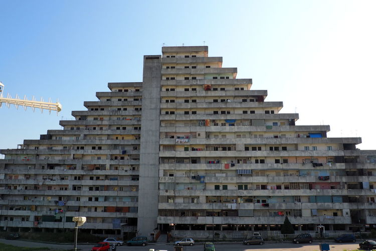 Scampia Architecture Broken Down House Building Exterior Building Feature Built Structure Documentary Failure  Lost Place Napoli Outdoors Sails Scampia Skyscraper Social Housing Vele