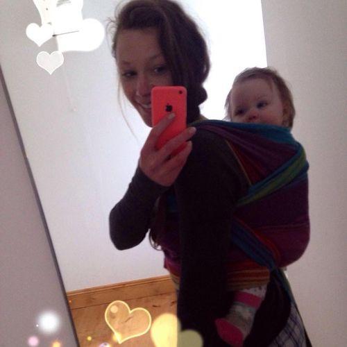 Babywearing Momlife RePicture Motherhood Babygirl
