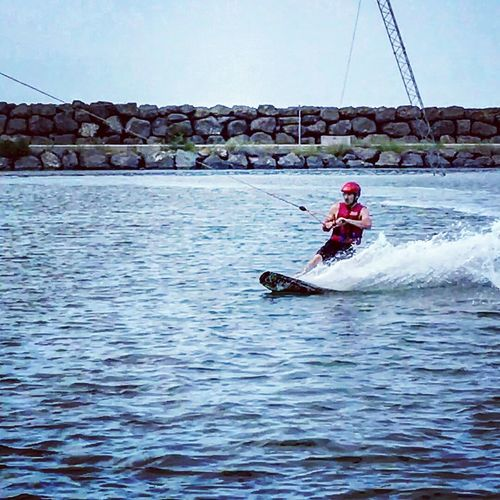 Wakeboarding Wakeboard Surf Sport Sea Sea Sports Day Cable Wakeboarding Freestyle Rideyourway Fun Speed Blue