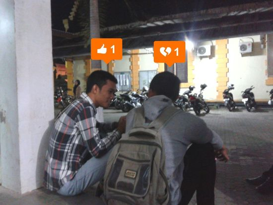 Curhat Situbondo Night Cityscape People
