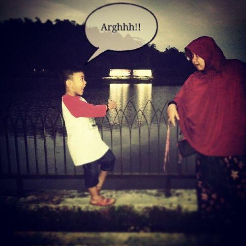 Pagi Dingin d Situwanayasa with Akang fatih narsis selfie havefun GJ wkwkwkwkwk ????