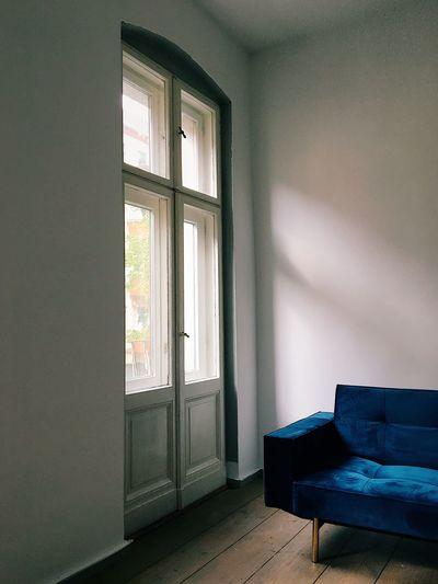 Open door of window