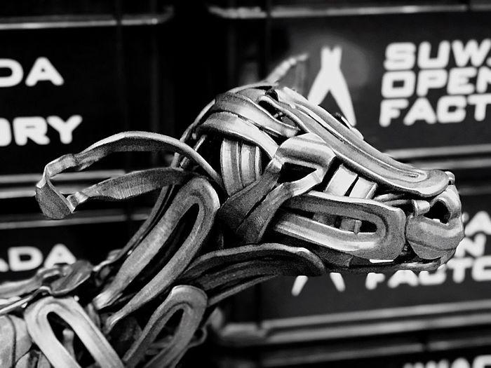 cypress dog Dog Close-up No People Craft Artizan Artisan Artist Metal Art Design Suwada