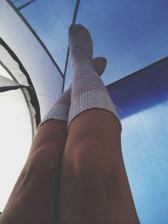 socks Camping rain desert arizona