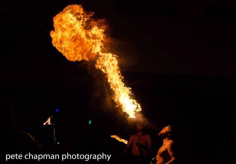 Fire Breathing Boscombe Pier