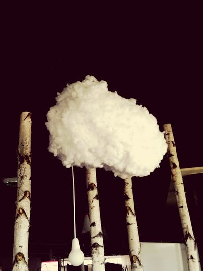 Indoor cloud.
