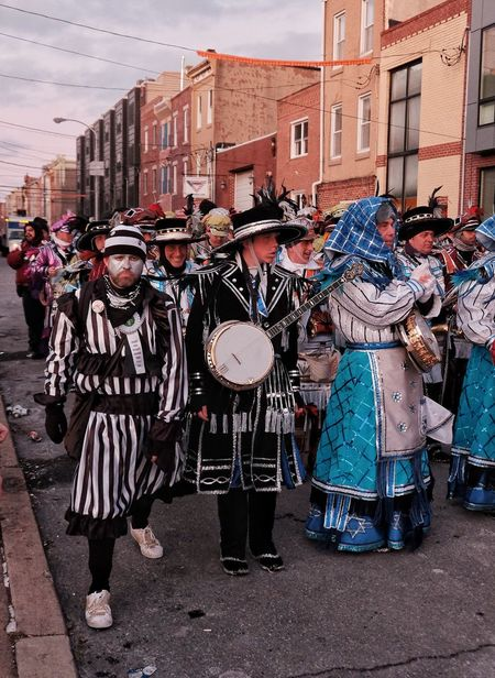 Phillylove ❤️ MummersParade2018 Arts Culture And Entertainment Built Structure Musical Instrument Architecture City Performance Building Exterior