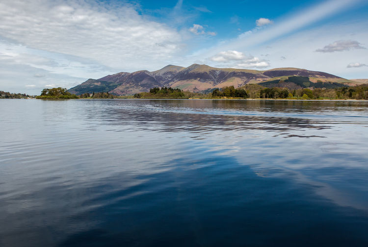 On the Lake Beauty In Nature Cloud - Sky Day Derwentwater Idyllic Lake Lake District Landscape Mountain Mountain Range Nature No People Outdoors Rippled Scenics Sky Tranquil Scene Tranquility Travel Destinations Tree Water Waterfront