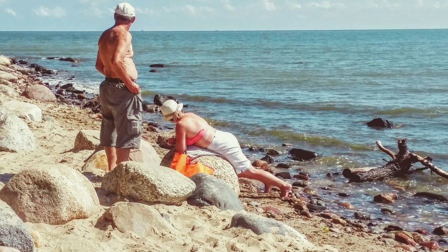 Beachdays Beachphotography Beachlovers Beach Time Oldcouples Oldcouple Senior Pictures  Baltic Sea