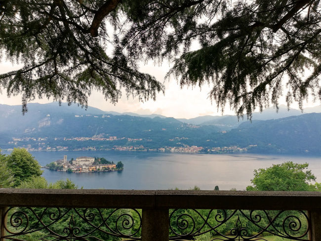 Lago D'Orta Ortasee Piemonte Beauty In Nature Island Lake Mountain Mountain Range Piemont Scenics - Nature Tranquil Scene Tranquility Water