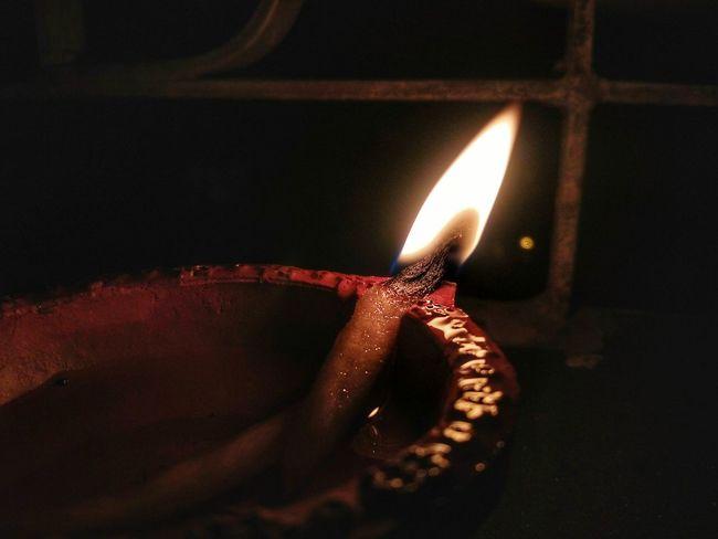 Red Celebration Burning Indoors  No People Diwali Illuminated Flame Night Close-up Diya - Oil Lamp Food Black Background Mix Yourself A Good Time