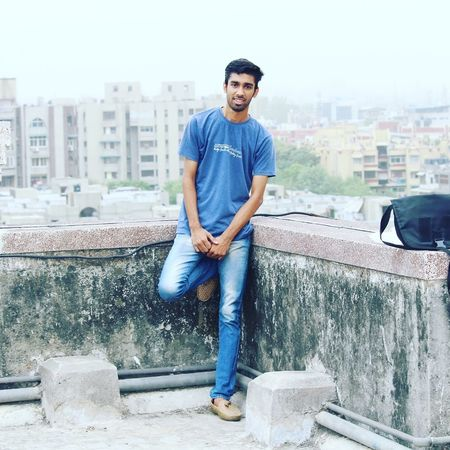 City Only Men Casual Clothing One Man Only Confidence  Front View Smiling Outdoors One Person Beard People Adults Only Jeans City Life Adult Fashion Young Adult Full Length Day Delhi Delhidiaries adults only First Eyeem Photo