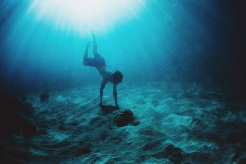 Always reach out for the next part of your life. Reach out like you will never be able to reach out again. Water Sea Underwater Scuba Diving UnderSea Nature Swimming Sunlight First Eyeem Photo