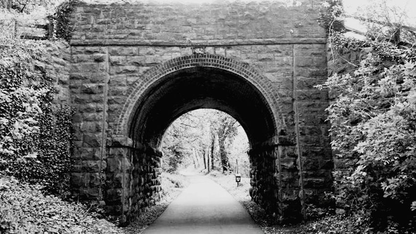 Old railway bridge ,dyserth walkway