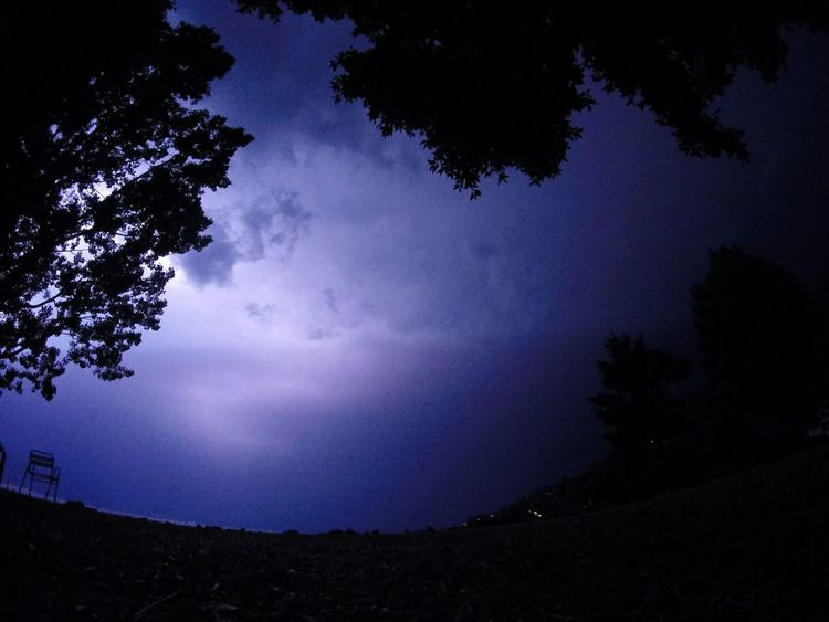 Nofilter Storm Lightning Clouds Switzerland Taking Photos Blueclouds Silhouette Trees