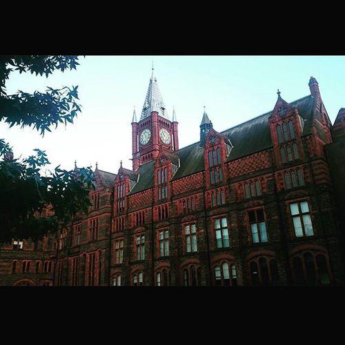 Universityofliverpool Uol Victoriabuilding Building Liverpool Redbricks Sky September