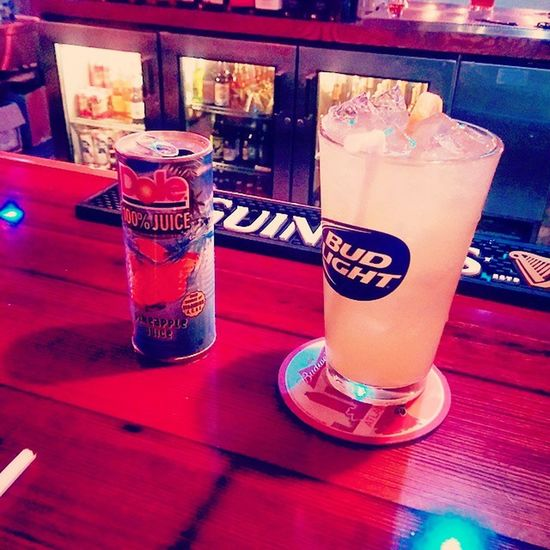 Thr liquor store was closed oh well this is Well needed. Pineapple Longisland Extrastrong with the homie @shellz5353