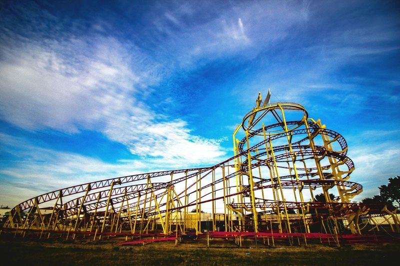 Amusement Park Sky No People EyeEmNewHere Abandoned Amusement Park Outdoors
