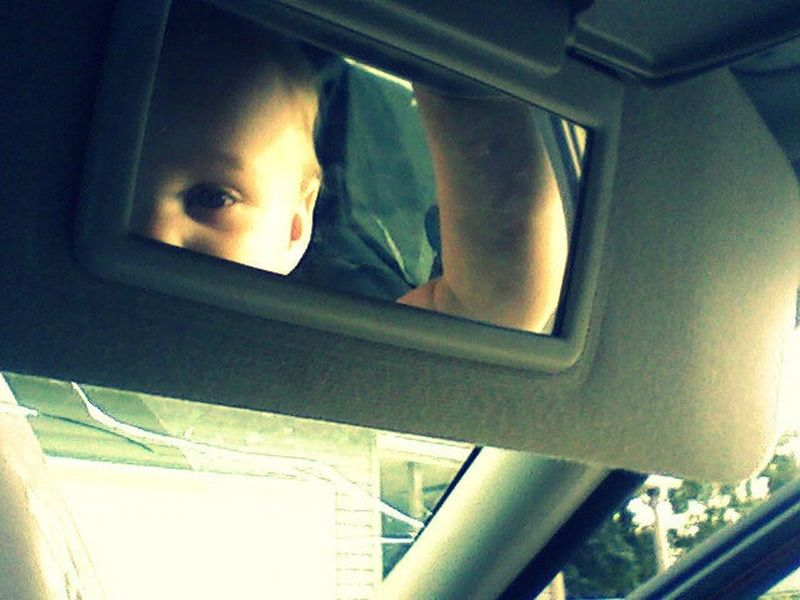Rearview Mirror Babygirl Mirror Coolshot