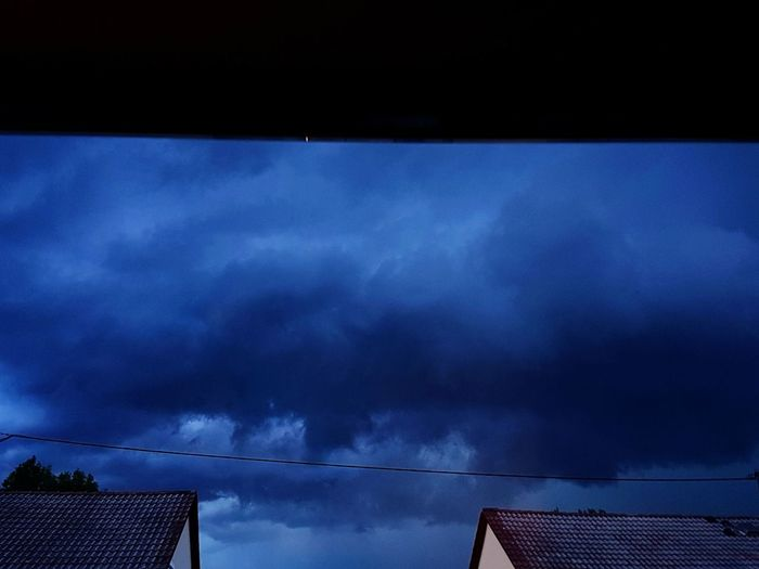 EyeEm Selects Low Angle View Sky Night No People Outdoors Nature Clouds Thunderstorm