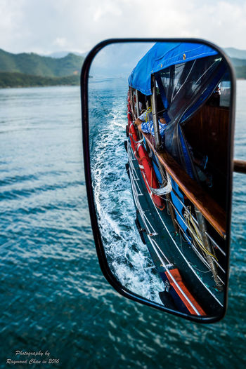 Boat Journey Nature Ocean Reflection Sky Transportation Water